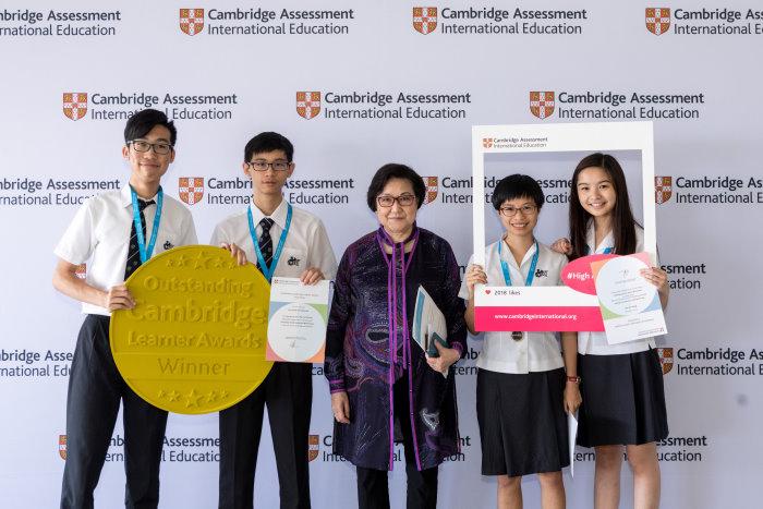 IGCSE Outstanding Cambridge Learner Awards Hong Kong
